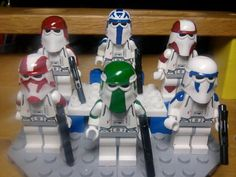 Lego Star Wars Snowtroopers Rex, Gree, Ponds, Denal
