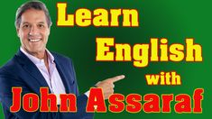 Interview with English Subtitles, Vocabulary, Idioms and Phrases John Assaraf, Idioms And Phrases, Learning English, Vocabulary, Interview, Watch, Clock, Bracelet Watch, Clocks