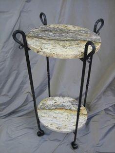 WWW.CJFORGE.NET Custom Granite Table Bases.