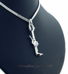 Sterling Silver Welders Cutting Torch Pendant by WrenchHeadJewelry, $329.00