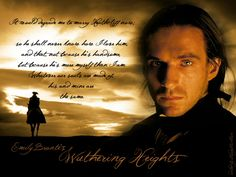 Another Wuthering Heights pin! This movie adaptation was not so great, but Ralph Fiennes was a good Heathcliff!