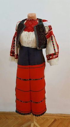 Margău - Zestrea - Sebastian Paic collection Folk Costume, Costumes, Embroidered Blouse, Romania, Ukraine, Folk Art, Textiles, Unique, Clothes
