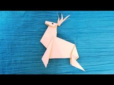 Origami : Renne de Noël - YouTube