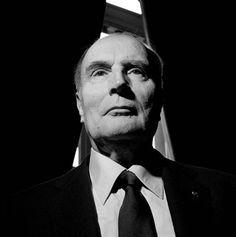 François Mitterrand par Xavier Lambours
