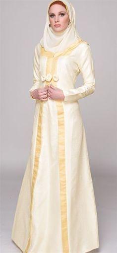 Hijab Fashion 2016/2017: beautiful abaya