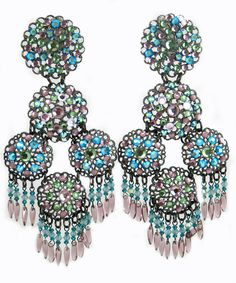 We are all about jewelry. Based in Montreal, we support local talent and international jewelry brands as well. Calling out all the Jewelry Lovers! Turquoise Chandelier, International Jewelry, Swarovski Crystal Earrings, Jewelry Branding, Statement Jewelry, Blue Topaz, Jewelery, Fashion Accessories, Bling