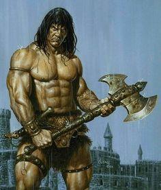 Conan The Barbarian by Joe Jusko.
