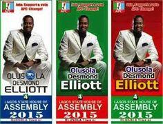 Indira Kobi's Blog: Desmond Elliot Wins APC Primaries