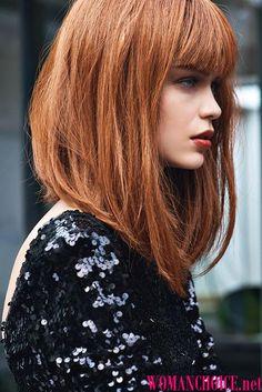 Картинки по запросу стрижка удлиненный боб для тонких волос
