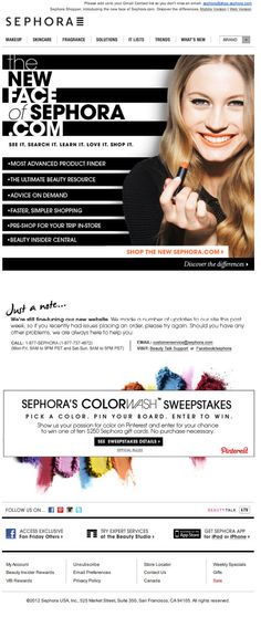 sephora_new_website_launch_email_marketing_design_animation_gif