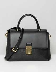Ted Baker Top Handle Tote Bag With Lock Detail