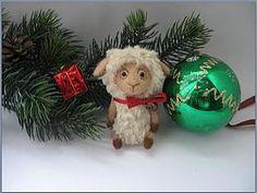 Новогодний мастер-класс: маленькая овечка - Ярмарка Мастеров - ручная работа, handmade