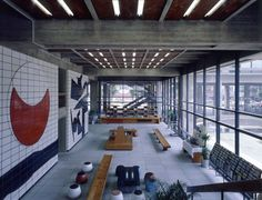 JA+U : Kagawa Prefectural Government Hall by Kenzo Tange © Shinkenchiku-sha