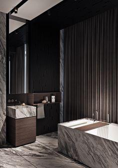 Home Interior Cocina 46 Elegant Bathroom Island Ideas Bathroom Design Small, Bathroom Interior Design, Modern Bathroom, Minimal Bathroom, Kitchen Interior, Bathroom Ideas, Bathroom Mirrors, Bathroom Marble, Interior Paint