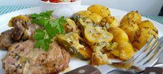 mäso s cuketou Czech Recipes, Russian Recipes, Ethnic Recipes, Seitan, Potato Salad, Steak, Pork, Favorite Recipes, Beef