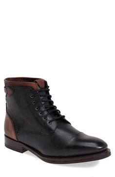 Ted Baker London 'Comptan' Cap Toe Boot (Men) available at #Nordstrom