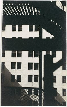 """cavetocanvas: """" Walker Evans, Untitled (Architectural Study, New York), c. 1929 From the Metropolitan Museum: """" In his first years as a photographer, when Evans tried out many techniques. Monochrome Photography, Urban Photography, Vintage Photography, Film Photography, Black And White Photography, Street Photography, Creative Photography, Tina Modotti, Gordon Parks"""