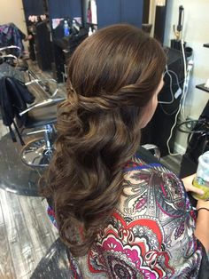 Hair Style Seat : Hair by Jayleen, the Hot Seat salon, bridal hair, wedding trial, half ...