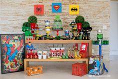 Objetos de decoraçao disponiveis para locaçao.   #decor #decoracao #party #festa #locacao #infantil #kids #homemaranha #spider #man #superherois #marvel #dc #batman #superhomem #superman #hulk #diy #ideias #inspiraçao