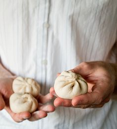 Vegetarian Steamed Buns Note