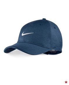 Help him keep his cool on the golf course with this Nike hat made with moisture-wicking Dri-FIT fabric!