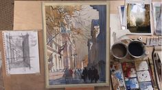 Capturing Light in Watercolor: How to Paint Cities