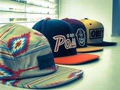 Obey Caps