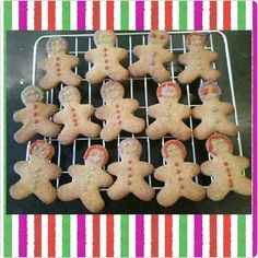 On the 14th day of December Fabulicious gives to you; 14 mischievous gingerbread men.  #yummy #advent #kidsinthekitchen #kidshavingfun #learningalifeskill #bakingmadness #biscuits #gingerbread #icing #fabbakingschool #loughton #essex #london