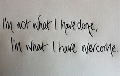 """I'm what I have overcome"" by Fireflight. I LOVE this sooooooo much! Such an inspiring quote!!"
