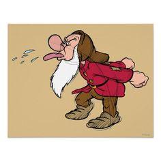 Shop Sketch Grumpy Poster created by SevenDwarfs. Grumpy Dwarf, Grumpy Cat, Looney Tunes Cartoons, Disney Cartoons, Disney Posters, Funny Qotes, Snow White 7 Dwarfs, Disney Quilt, Funny Adult Memes