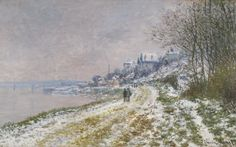 Six paintings by Claude Monet to lead Sotheby's May Evening Sale of Impressionist & Modern Art Monet Paintings, Impressionist Paintings, Landscape Paintings, Claude Monet, Snow Scenes, Winter Scenes, Museum Of Neon Art, Paris Snow, Art Japonais