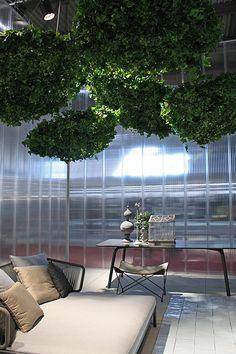 fair   trade fair stand   shady foliage at roda.