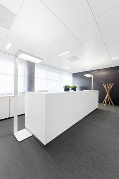 KKCGs Prague Offices #reception #reception_desk, #reception_design, #reception_area reception desks, reception design, reception area