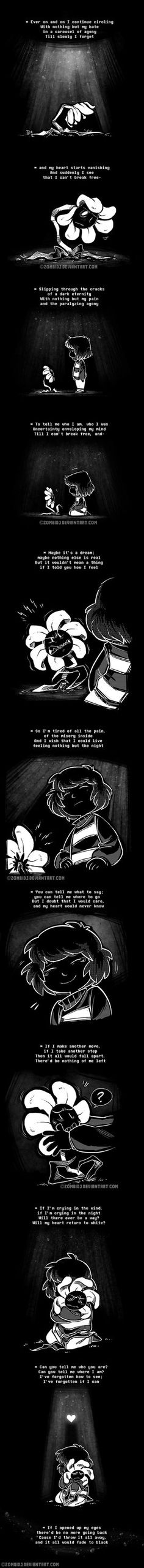 Undertale - Bad Flowey by ZombiDJ on DeviantArt