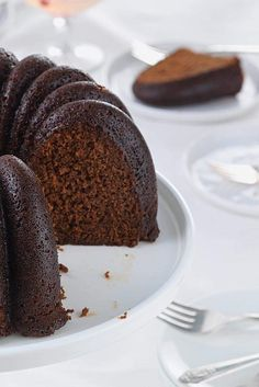 Gingerbread Bundt Cake Recipe - See comment about using Crisco/granulated sugar to coat pan.  Important!