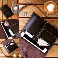 Leather Case for iPad Mini 1,2,3 color is dark brown  IDR 150K USD 15  contact : rdmdimas@gmail.com