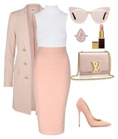 """Untitled #234"" by amoney-1 ❤ liked on Polyvore featuring Vero Moda, Karen Walker, Tom Ford, Jimmy Choo, Topshop and Jane Norman"
