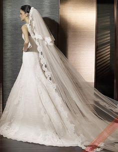 2012 Satin Wedding Dresses,Mermaid Wedding Dresses On Sale YOU15854