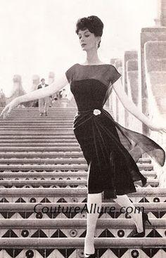 Couture Allure Vintage Fashion: Luis Estevez - 1960, Part 2