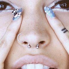 I think I want to get my septum pierced.