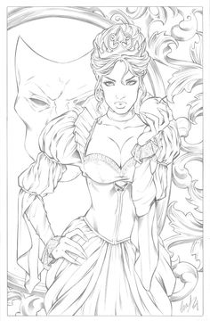 evil queen coloring pages.html