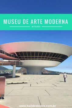 Na foto é possível ver o Museu de Arte Moderna (MAC), que fica no alto do Mirante da Boa Viagem, em Niterói.