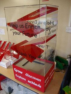 Interactive Donation Box