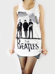 THE BEATLES 60s Pop Rock Vintage Rock Music TShirt by punkalife, $15.99