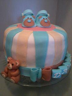 Krstiny  torta