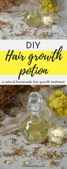 DIY hair growth poti