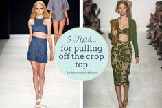 How to Wear: Crop Tops {5 Tips for Every Body Type}