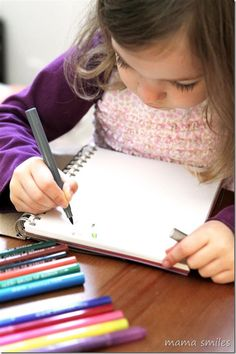 High quality art materials are a wonderful way to encourage creativity! Few things are as inspiring as some gorgeous markers and a notebook of beautiful art paper!