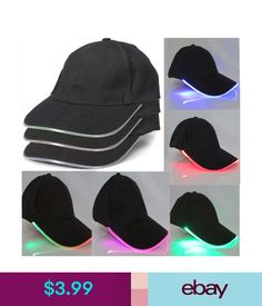 8d8d5e64e71 Hats Led Lighted Up Hat Hip-Hop Baseball Hats Adjustable Glow Club Party  Sports Cap