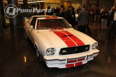 1978 #Mustang Cobra II at Ford's #2015Mustang unveiling in Dearborn, MI. [Click to learn more]